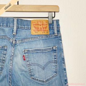 [Levi's] Men's Light Wash 511 Slim Fit Jeans